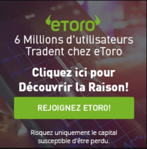 trader bitcoin sur etoro